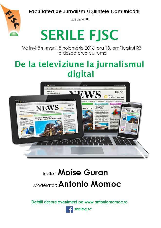Serie FJSC cu Moise Guran